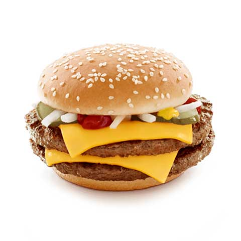 100 Gram McDONALD'S QUARTER POUNDER with Cheese