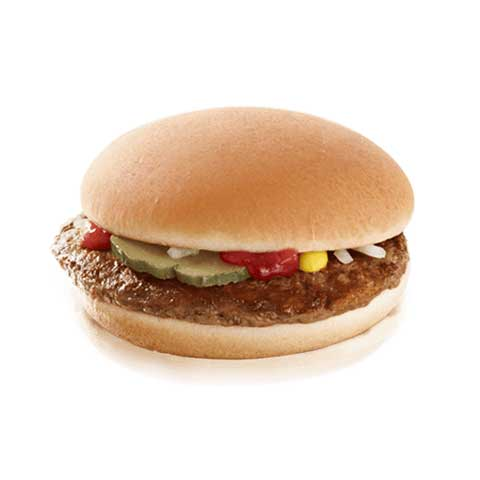 100 Gram McDONALD'S Hamburger
